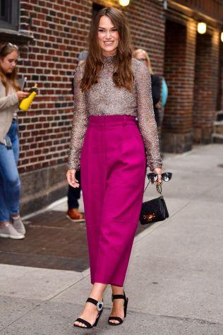 Keira Knightley in Valentino, New York