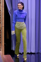 Kendall Jenner in Paula Knorr al The Tonight Show Starring Jimmy Fallon