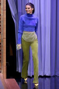 Kendall Jenner in Paula Knorr al The Tonight Show Starring Jimmy Fallon
