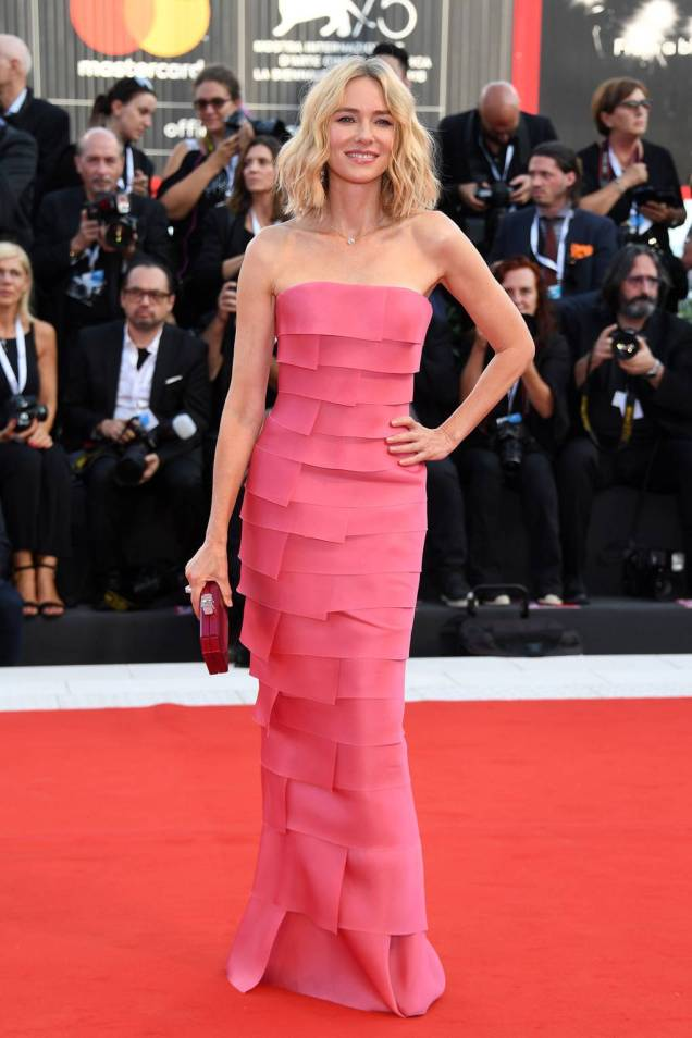 Naomi Watts in Armani Privè alla First Man Premiere al Venice Film Festival 2018