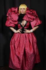 Nicki MInaj al Marc Jacobs Fashion SHow,NY