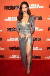 Olivia Munn alla screening of The Predator, Hollywood