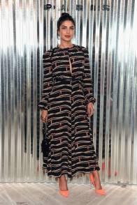 Priyanka Chopra al Longchamp SS19 show New York Fashion Week