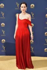 Rachel Bresnahan in Oscar de la Renta agli Emmy Awards, California
