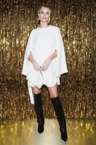 Rosie Huntington-Whiteley al Jimmy Choo dinner New York Fashion Week
