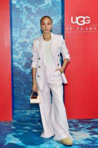 Adwoa Aboah all'UGG celebrates 40 years at Chateau Marmont, Los Angeles