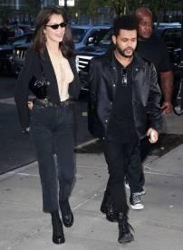 Bella Hadid e The Weeknd, NY