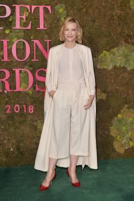 Cate Blanchett in Stella McCartney ai Green Carpet Fashion Awards, Milan Fashion Week