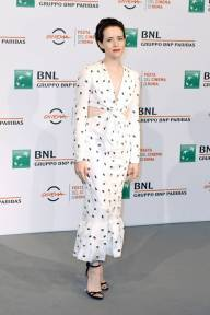 Claire Foy al 'The Girl In The Spider's Web' Photocall, Rome