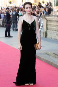 Claire Foy inStella McCartney al San Sebastian International Film Festival, Spain
