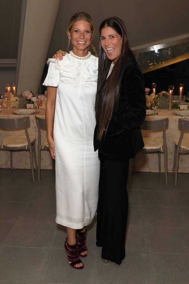 Gwyneth Paltrow e Elizabeth SAltzman al Gwyneth Paltrow, Elizabeth Saltzman and friends toast Goop's 10th Anniversary, London