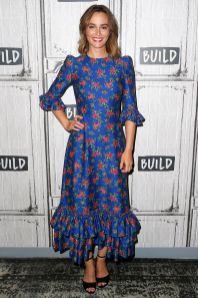 Leighton Meester in The Vampire's Wife al Build Series, New York