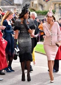 Naomi Campbell al matrimonio della Principessa Eugenia di York, Windsor