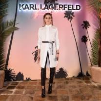Olivia Palermo al Karl Lagerfeld X Kaia capsule collection launch party, Paris