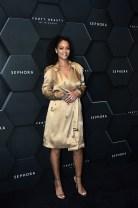 Rihanna in Riccardo Tisci's Spring Summer 2019 Burberry runway collection, Dubai