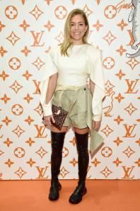 Sienna Miller in Louis Vuitton al Louis Vuitton X Grace Coddington Celebration, New York