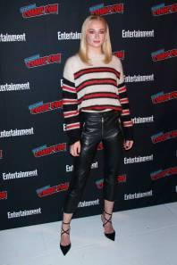Sophie Turner al New York Comic Con