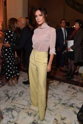 Victoria Beckham all'YouTube cocktail party, Paris Fashion Week