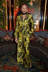 Adwoa Aboah in Erdem ai The Fashion Awards Nominees Party, Annabel's
