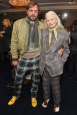 Andreas Kronthaler e Vivienne Westwood alla Leopards' Prince's Trust Winners Reception, Fortnum & Mason, London