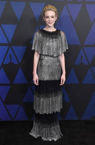 Carey Mulligan in Dolce & Gabbana ai The Governors Awards, Hollywood