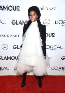Janelle Monae ai Glamour Women Of The Year Awards, New York