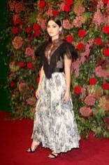 Jenna Coleman ai Evening Standard Theatre Awards, London