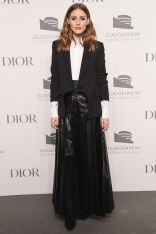 Olivia Palermo in Dior al Guggenheim International Gala pre-party, New York