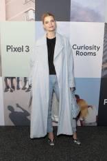Pixie Geldof al Google Pixel 3 Curiosity Rooms Launch, London