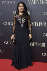 Salma Hayek ai Vanity Fair Person of the Year awards