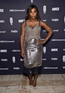 Serena Williams ai Brand Genius Awards, New York