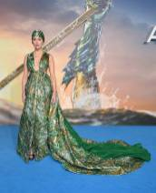 Amber Heard in Valentino Couture all''Aquaman' premiere, London