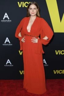 Amy Adams in Chloe alla premiere of Vice.