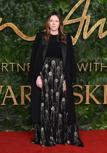 Clare Waight Kellerin Givenchy Haute Couture ai Fashion Awards 2018, London