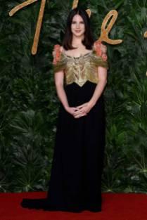 Lana del Rey in GUcci ai Fashion Awards 2018, London