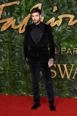 Liam Payne in HUGO ai Fashion Awards 2018, London