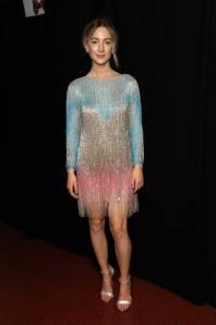 Saoirse Ronan in Gucci ai Fashion Awards 2018, London
