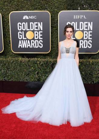 Allison Brie ai Golden Globes 2019
