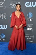 Amandla Stenberg in Graziela Gems ai 2019 Critics' Choice Awards