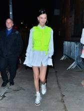 Bella Hadid alla Louis Vuitton Dinner Arrivals, New York