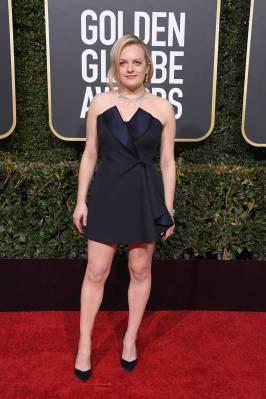 Elizabeth Moss ai Golden Globes 2019