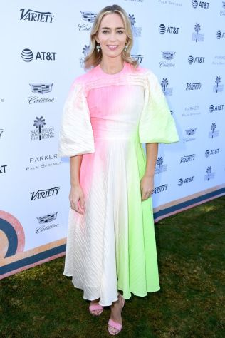 Emily Blunt in Roksanda al Variety's Creative Impact Awards,Palm Springs