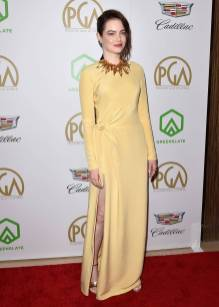 Emma Stone in Louis Vuitton ai Producers Guild Awards, California