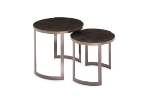 FF Anya side tables Sycamore