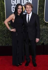 Giada Colagrande e Willem Dafoe ai Golden Globes 2019