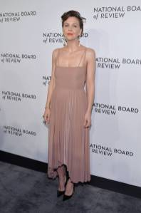 Maggie Gyllenhaal in A.W.A.K.E. alla National Board of Review Awards Gala, New York