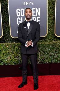 Michael B.Jordan ai Golden Globes 2019