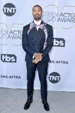 Michael B.Jordan ai SAG Awards 2019