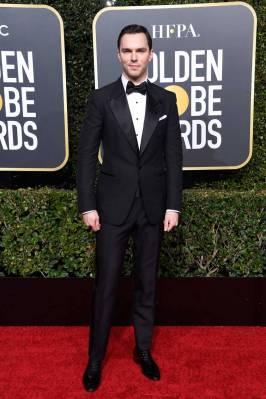 Nicholas Hoult ai Golden Globes 2019