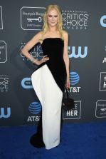 Nicole Kidman in Armani Privè ai 2019 Critics' Choice Awards